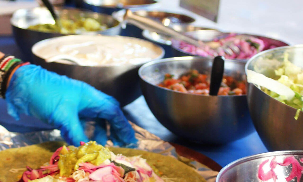 Freshly prepared foods to take away