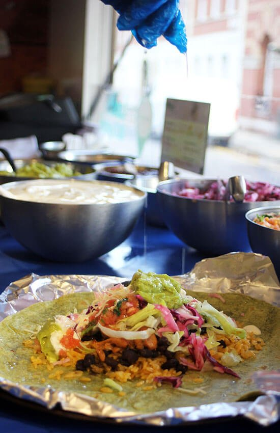 Mexican wrap recipe